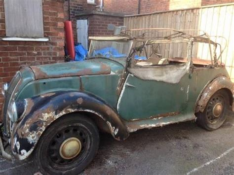 Uk Barn Finds Sale for sale morris 8 series e tourer 1939 classic cars hq