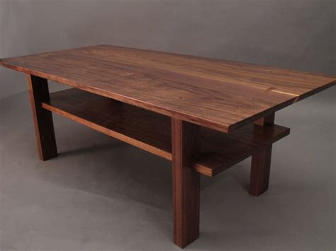 Handmade Modern Wood Furniture - modern wood coffee table and end tables coffee tables