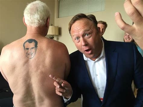 roger stone nixon tattoo reminder roger has a of nixon s on his