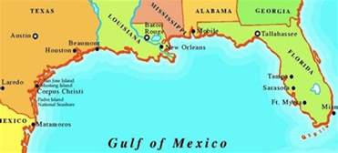 map of gulf coast florida cities images