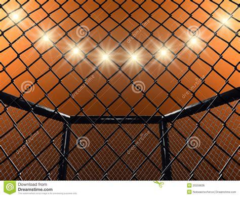 lotta in gabbia gabbia di lotta illustrazione di stock illustrazione di