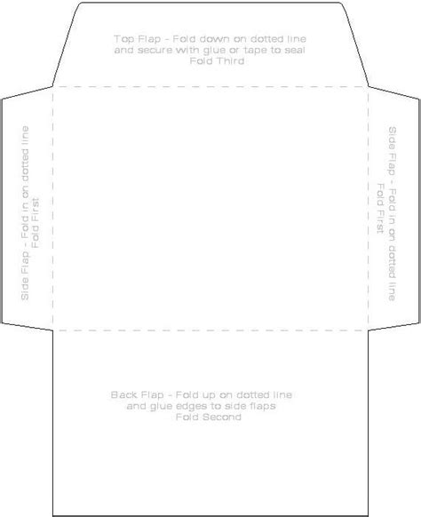 10 envelope printable area 9 best images of envelope template pdf small envelope