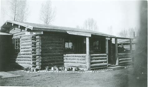 Post Office Jackson Wy by Moose Ranch Jackson Historical Society Museum