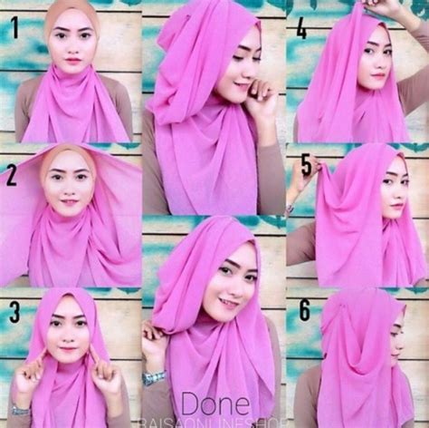 tutorial hijab simple tutorial hijab simple 5 tutorial hijab pashmina simple untuk berbagai acara