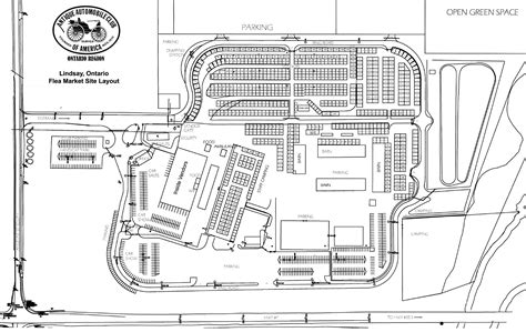 layout of building site lindsay fair ground layout