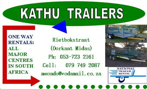 One Way Trailers by Meondo Kathu Meono Kathu