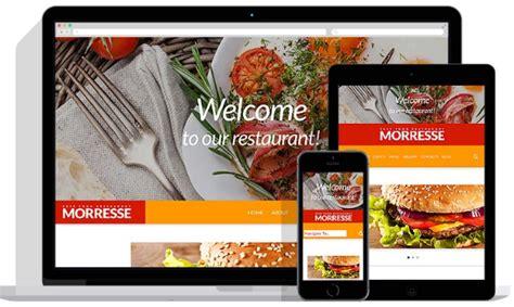 Top Responsive Fast Food Website Templates Xml Swf Fast Food Website Template Free