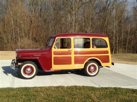 Jeep Woody Wagon For Sale 1947 Willys Overland Jeep Station Wagon 463 L 134 Woody