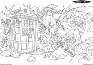 doctor who coloring book doctor who coloring pages geeking juxtapost