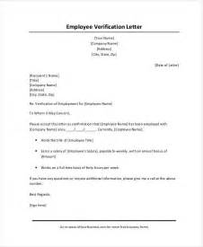 Verification Letter Sle How To Request Employment Verification Letter From