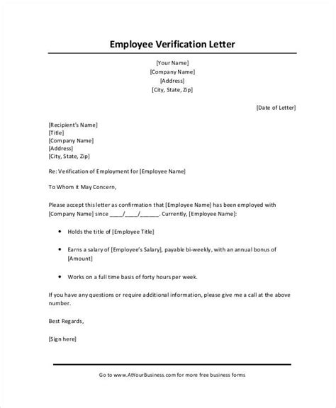 employment verification letter template microsoft kays