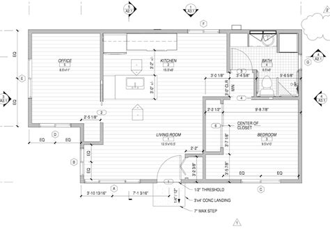 accessory dwelling unit floor plans house plans 1000 square get house