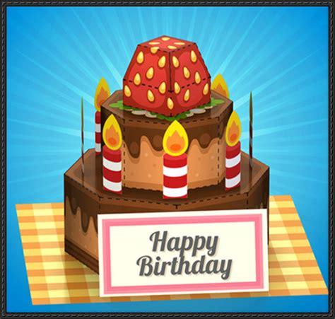 Birthday Cake Papercraft - cake papercrafts papercraftsquare