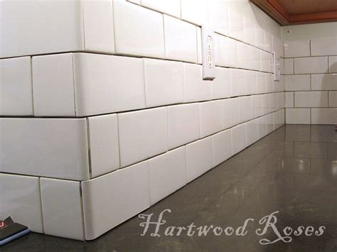 Kitchen Tile Backsplash Pictures by Hartwood Roses Workday Weekend Tutorial Tiling The