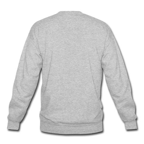 crewneck sweatshirt template front and back www imgkid