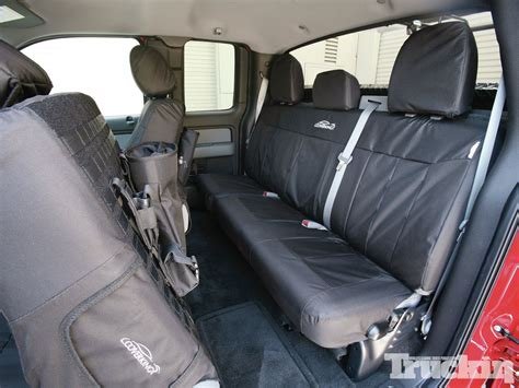 seat covers for f150 bench seat f150 rear seat cover velcromag