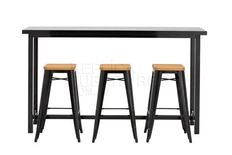 Bar Table And Stools by Replica Xavier Pauchard Bar Table Commercial Furniture
