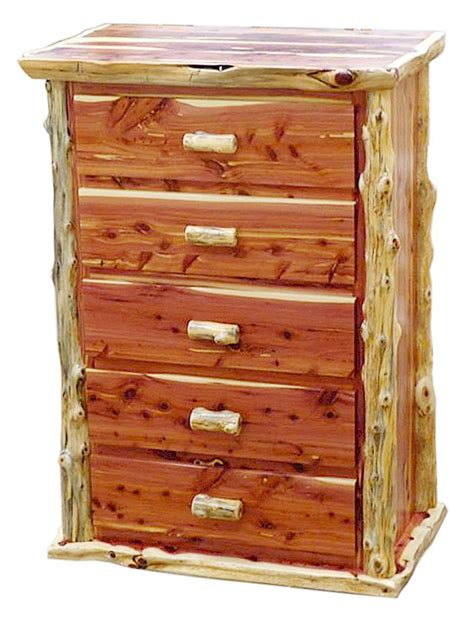 red cedar bedroom furniture red cedar log dressers rustic dressers rustic log