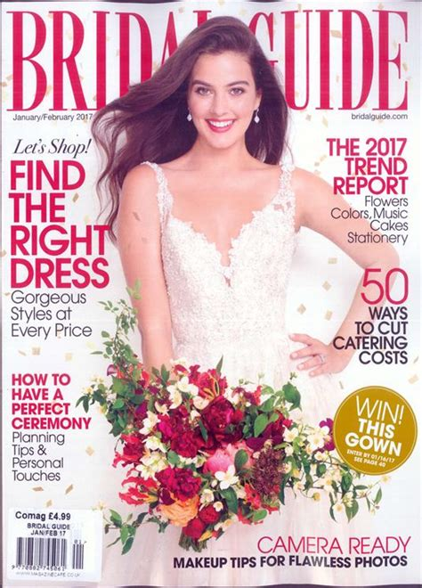 Where To Buy Bridal Magazines by Bridal Guide Magazine Subscription Buy At Newsstand Co