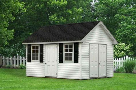 Shed With Siding