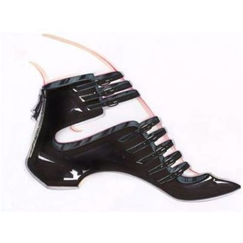 Wedges Bb 08 M0ca casadei s sketch softymetal multistraps ballerina in black glossy patent leather with