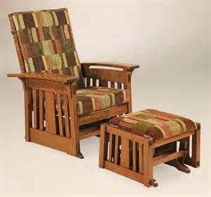 living room glider mccoy glider herron s amish furniture