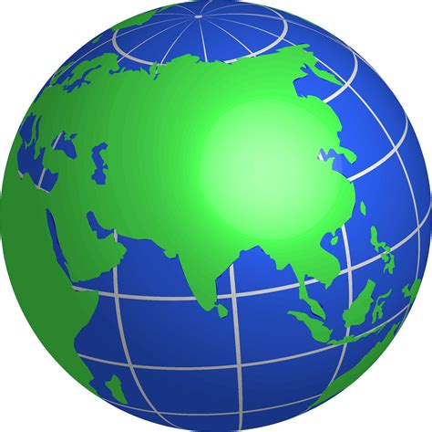 globe map of asia clipart asia world globe
