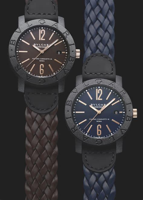 bvlgari carbon gold watches world