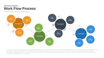 work process flow chart template work flow process powerpoint and keynote template