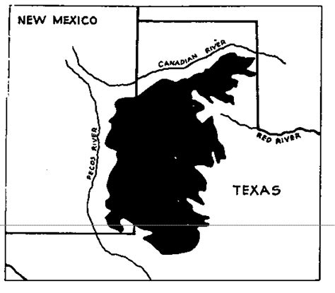caprock escarpment texas map meredith mcclain the alluring myth of the desert