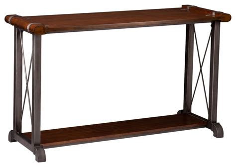 transitional console table southern enterprises inc piermont transitional console