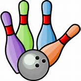 Free bowling clipart graphics. Bowler images, player, pin banks, ball ...