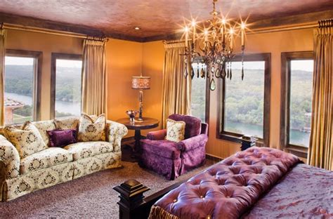 pleasant purple  gold bedrooms home design lover
