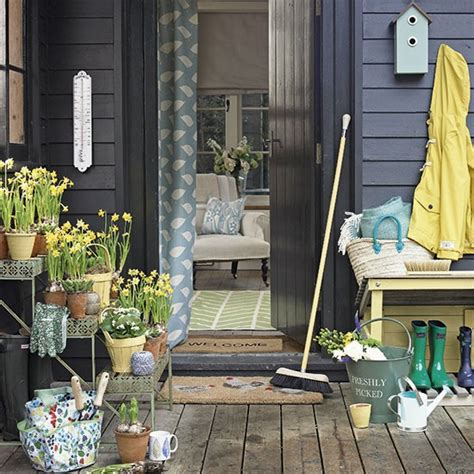Summer House Sofa by A Pretty Country Garden Room Envy