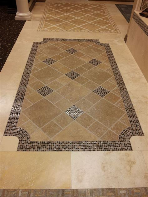 tile floor design idea tile entry ways