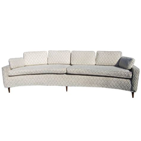 Curved Sofas For Sale Vintage Harvey Probber Style Curved Sofa For Sale At 1stdibs