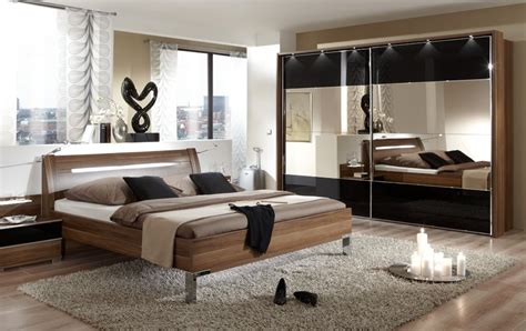 stylish black bedroom sets for white or gray