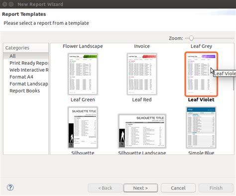 Jaspersoft Report Template Creando Informes En Java Con Jasperreports Desde