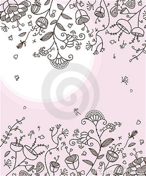 noodle and doodle sock flowers lovely doodle flowers royalty free stock images image