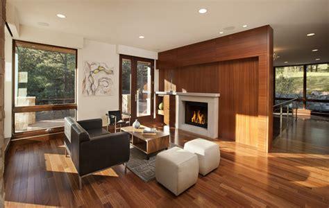 pine brook boulder mountain residence living room modern