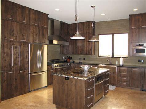 alderwood kitchen cabinets alder