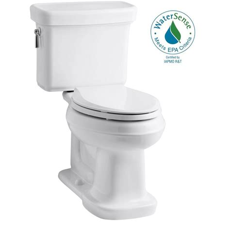 Comfort Toilets Home Depot by Kohler Archer Comfort Height 2 1 28 Gpf Elongated