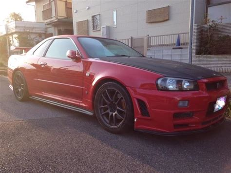 Nissan Skyline R34 1999 For Sale Nissan Skyline R34 Bnr34 Gtr V Spec For Sale Japan