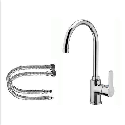 rubinetto da cucina miscelatore da cucina collo alto cromato rb250