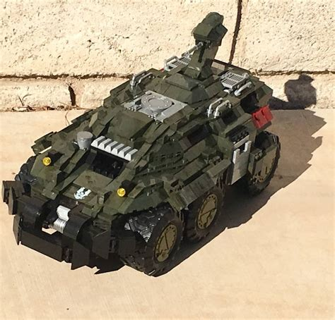 Custom Wars 2 mega construx fan gallery custom halo wars 2 m650 mastodon