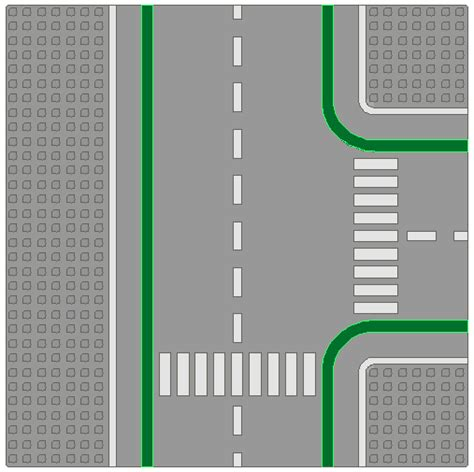 lego printable road pdf bricker construction toy by lego 6310 2 t road plates