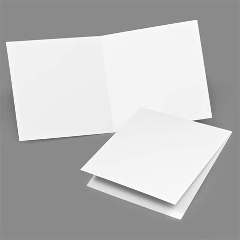 7 Paper Fold - folded card classic 7x7 envelopments
