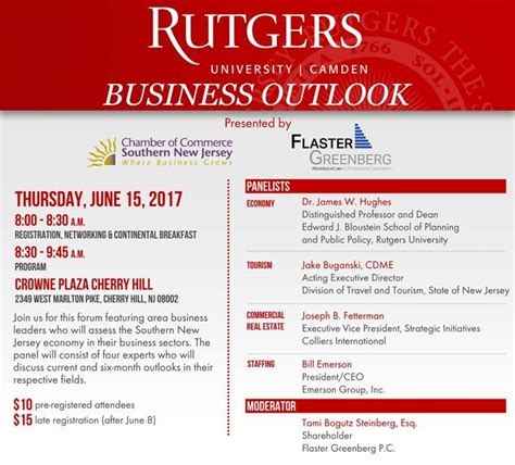 Rutgers Mba Registration by Rutgers Business Outlook June 2017 Firm Attorneys