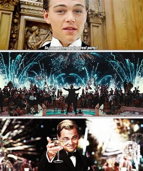 loneliness theme in the great gatsby ain t no party like a gatsby party haha young leonardo