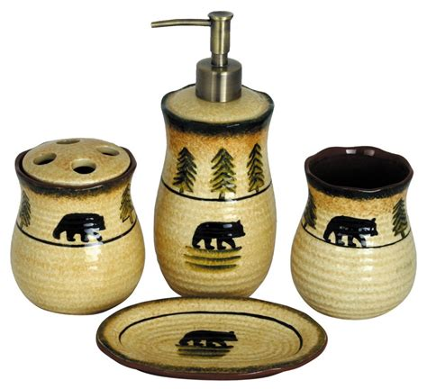 bear bathroom bear bathroom set